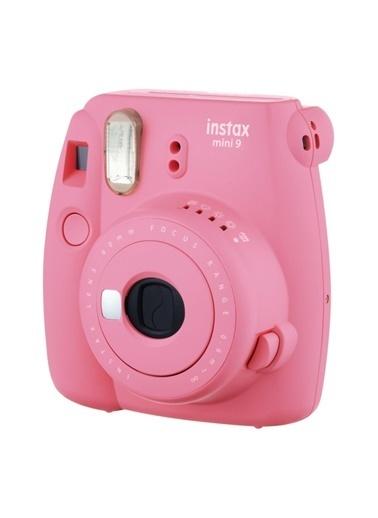 Fujifilm Instax Mini 9 Pembe Fotoğraf Makinesi ve Hediye Seti 2 Pembe